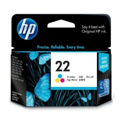 HP C9352A 原廠彩色墨水匣 NO:22