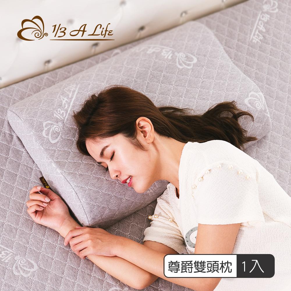 1/3 A LIFE 鑫妮 防黴蹣-尊爵兩用雙頭記憶枕(1入)