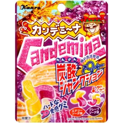 Kanro Candemina雙色汽水風味糖(40g)