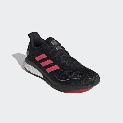 adidas SUPERNOVA 黑/桃紅 運動跑鞋 男款 FW0699
