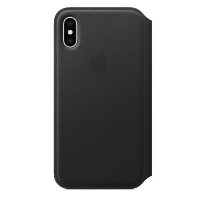 Apple 原廠 iPhone X Leather Folio 皮革雙面夾 (公司貨)