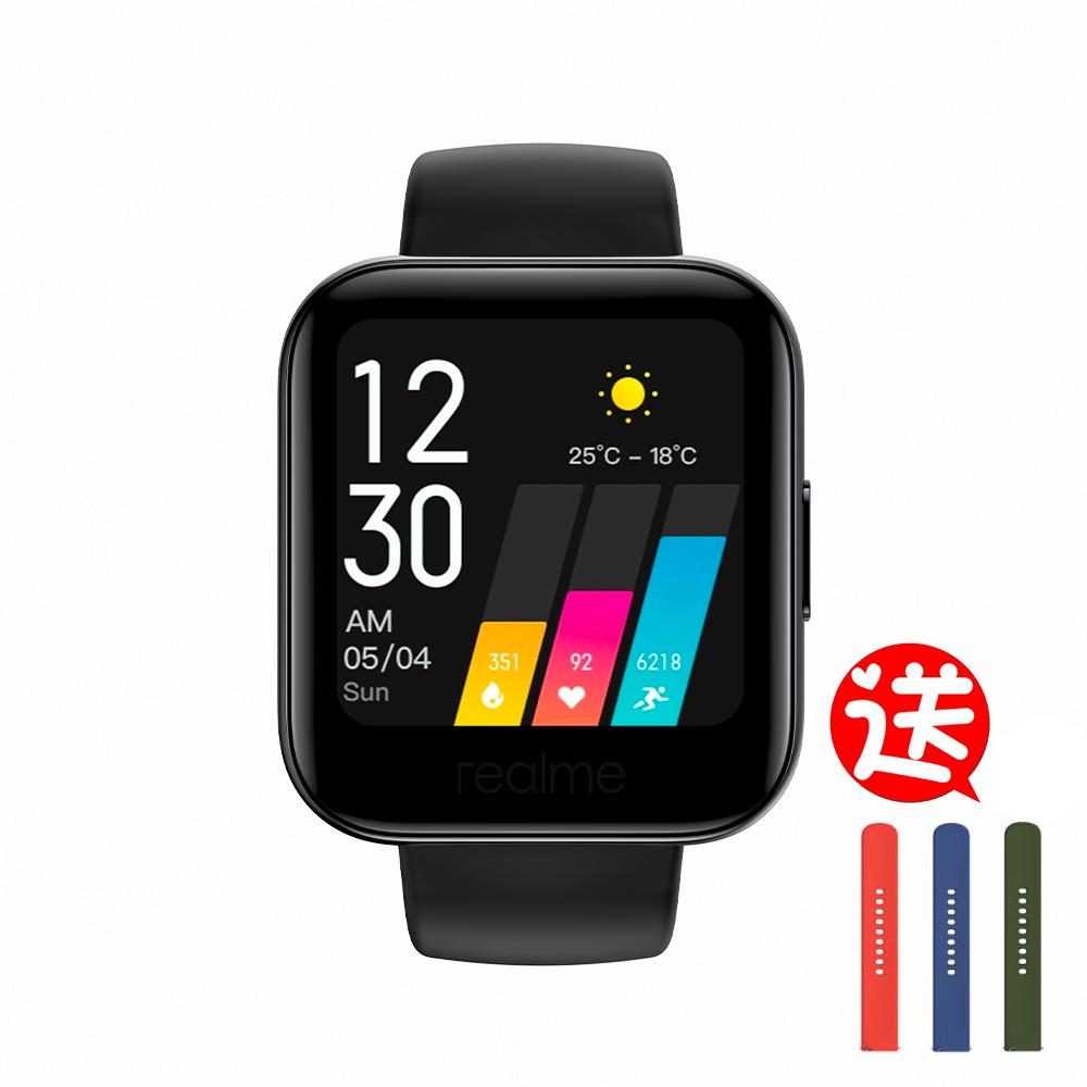 (送錶帶)realme 智慧手錶