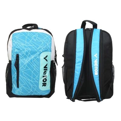 VICTOR 雙肩後背包-裝備袋 球拍袋 羽球 勝利 BR006JRMC 黑白藍綠