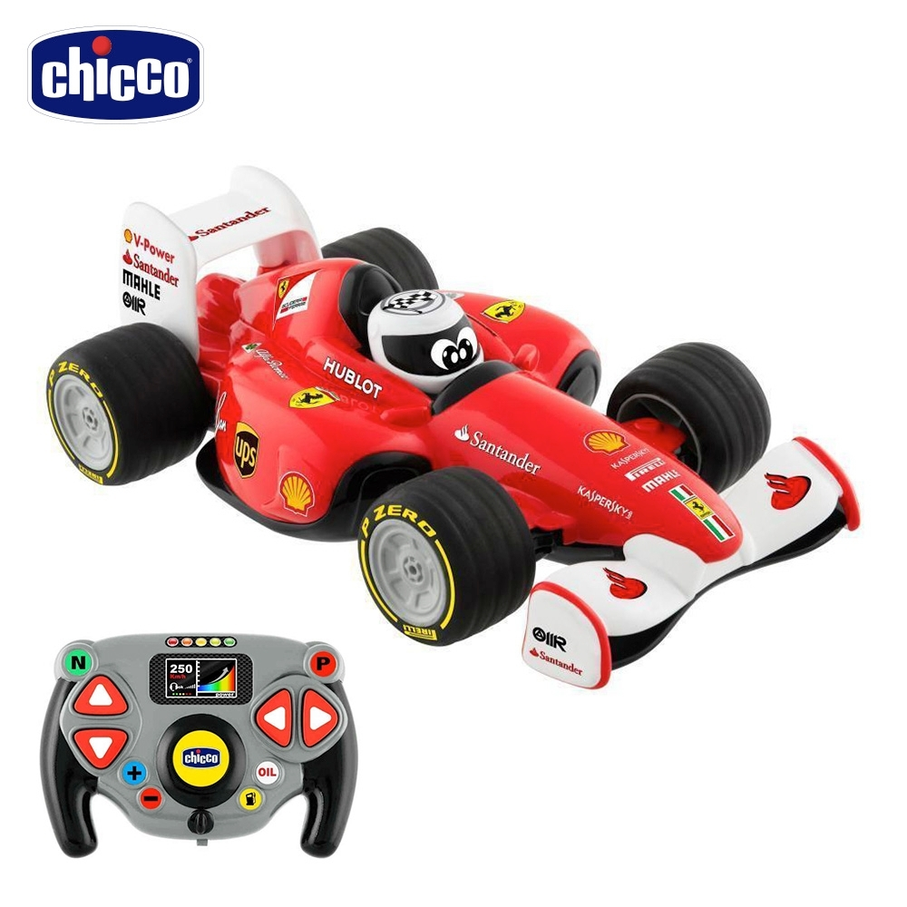 chicco-無線遙控賽車(含遙控器)-法拉利 R/C
