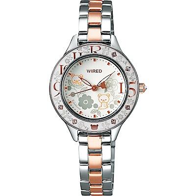 WIRED f x Rilakkuma 拉拉熊15週年限量女錶(AY8045X1)