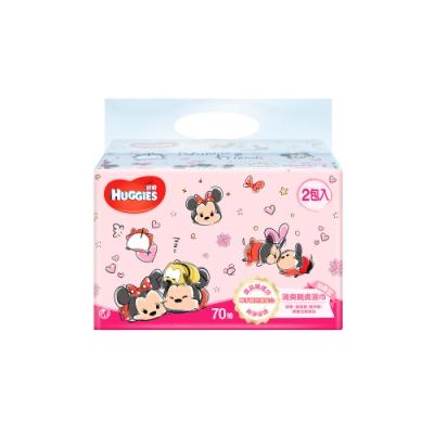 好奇 清爽親膚濕巾(迪士尼限定版) 加厚型 70抽x2包x9組/箱