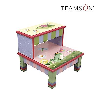 Teamson 魔法花園兒童小梯凳