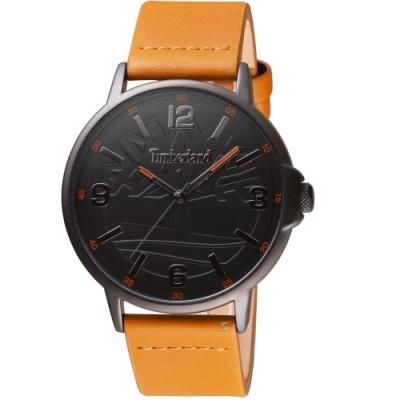 Timberland經典百搭時尚手錶(TBL.16011JYB/02)-黑