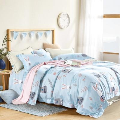 A-ONE 頂級天絲三件式-加大床包/枕套組-守望