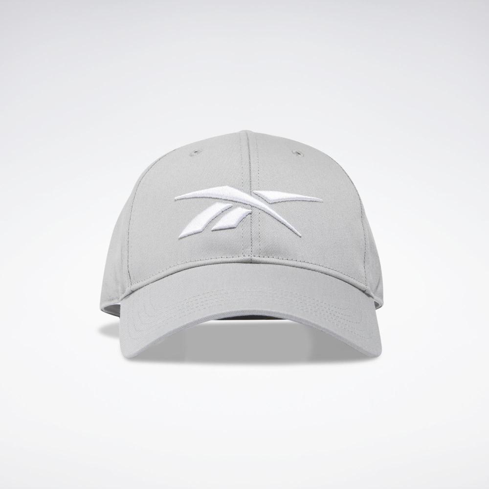 Reebok UBF BASEB CAP  老帽 休閒帽-灰-H36515