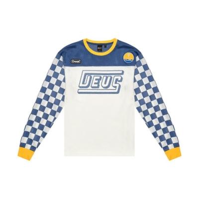 Deus Ex Machina  Chex 長袖T恤-藍(男/女)
