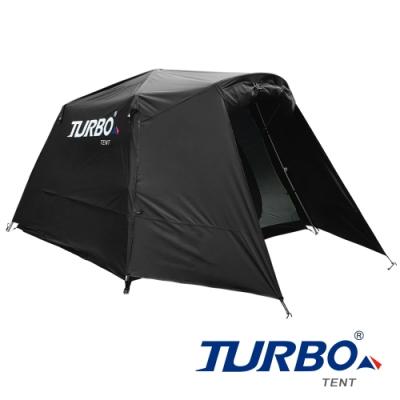 【Turbo Tent】Nomad 270遊牧民族六人帳篷-黑象版(全遮光 類黑膠)