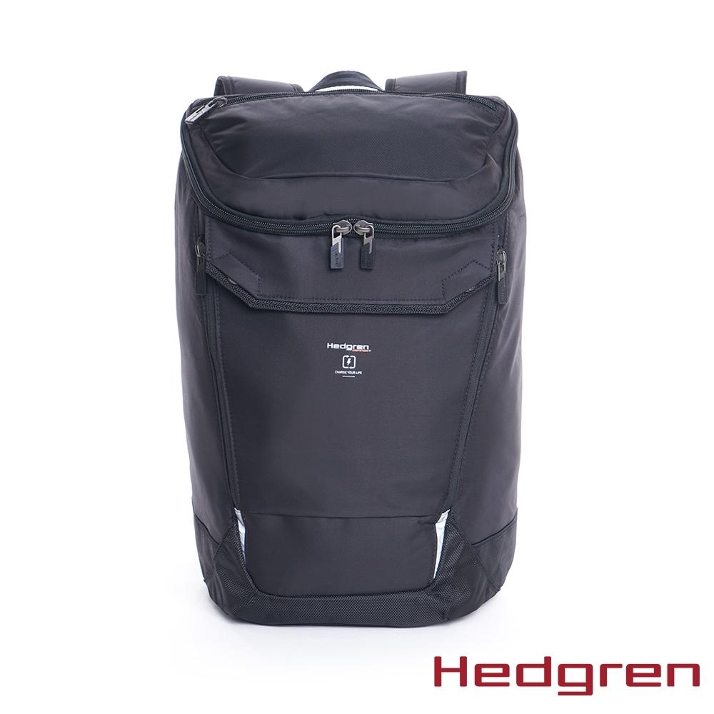 """【Hedgren】墨黑後背包15.6"""" - HLNK 05 BOND"""