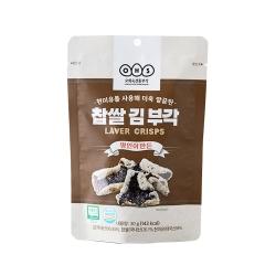 韓味不二 【韓國原裝】海苔米脆餅(30g)