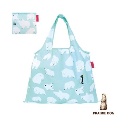 日本 Prairie Dog 設計包/環保袋/購物袋/手提袋- 北極熊