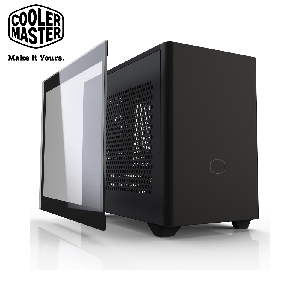 Cooler Master MasterBox NR200P 機殼 黑色 product image 1