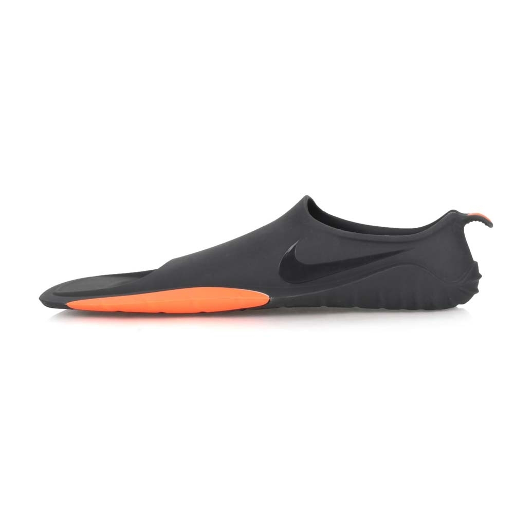 NIKE 男女 游泳訓練蛙鞋  SWIM 黑橘