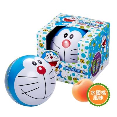 哆啦A夢果凍收納球190g/組(水蜜桃蒟蒻/擠壓式果凍)