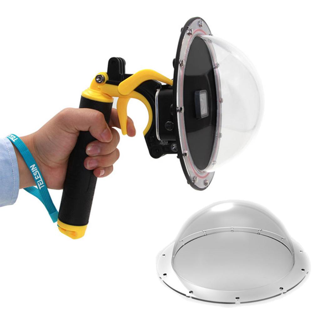 TELESIN GoPro Hero 5 6 7 專用 Dome 分水鏡 加送一組透明罩