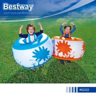 Bestway 52222兒童充氣彈力泡泡足球附修補片.兒童趣味活動彈力碰碰球人體碰碰樂