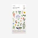 Dailylike 日日美好裝飾透明貼紙-51花花世界