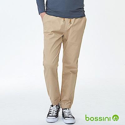 bossini男裝-磨毛保暖束口褲01深褐