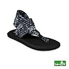 SANUK-YOGA SLING 2 菱形格紋瑜珈墊涼鞋-女款(黑白)