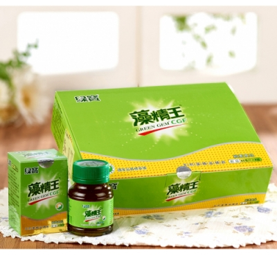 綠寶 藻精王滋補飲禮盒3入組(65毫升/罐×8/禮盒)