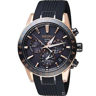 SEIKO ASTRON GPS 5X53雙時區鈦金屬腕錶(SSH006J1)
