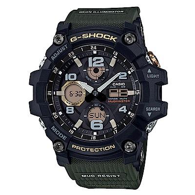 G-SHOCK MUDMASTER防塵防污高效能太陽能錶-綠(GSG-100-1A3)54