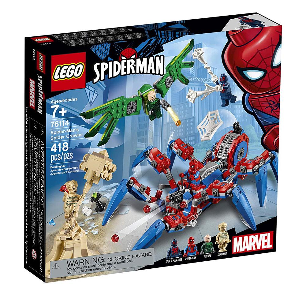 樂高LEGO 超級英雄系列 - LT76114 Spider-Man s Spider C