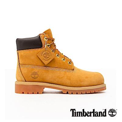 Timberland 童款經典高筒防水黃靴 | 12709713
