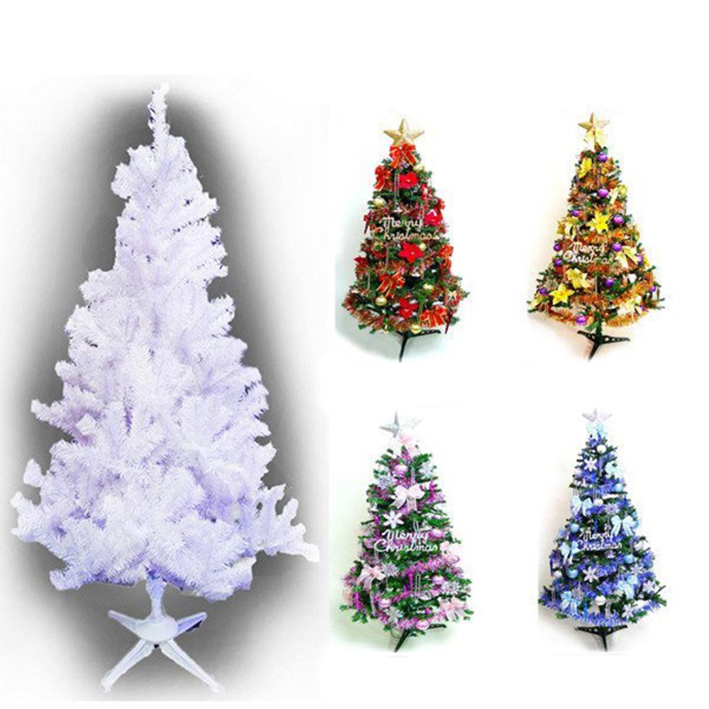 摩達客 10尺豪華夢幻白色聖誕樹(飾品組/不含燈)
