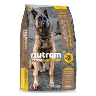 【NUTRAM】紐頓T26無穀挑嘴潔牙全齡犬(羊肉)3lb/1.36kg
