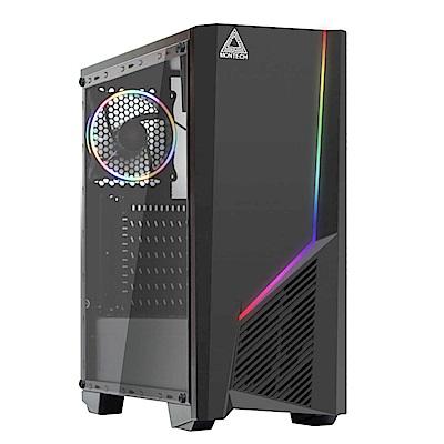 微星平台i7 六核{宇宙血戰}GTX1660-6G獨顯電玩機