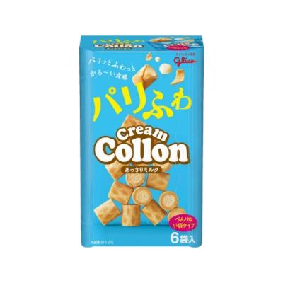Glico格力高 香醇牛奶捲心餅6袋入(81g)