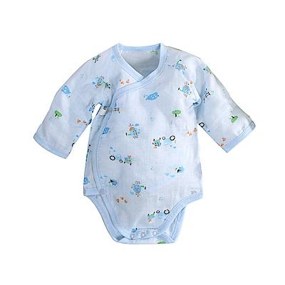 印花薄款純棉護手連身衣 b0170 魔法Baby