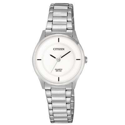 CITIZEN 星辰LADY S完美極簡時尚腕錶ER0201-81B