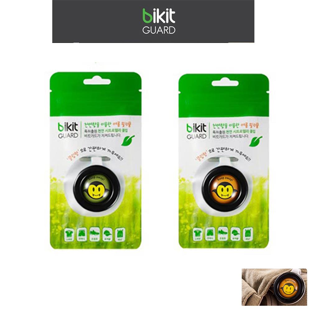 【韓國Bikit Guard】防蚊扣二款組