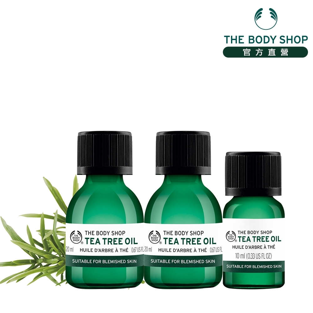 The Body Shop 天然茶樹淨膚精油組