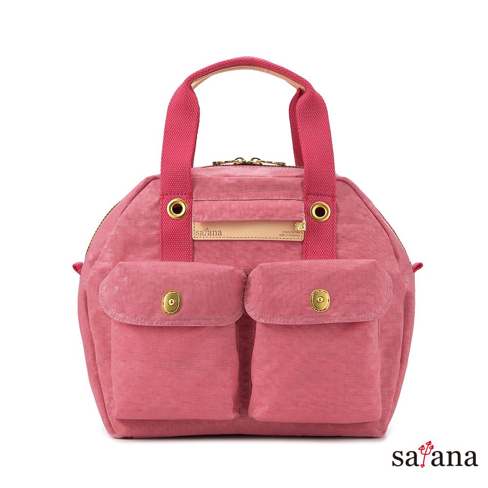 satana - Soldier 旅行後背包/保齡球包 - 歡喜玫瑰