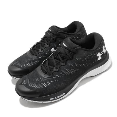 UA 慢跑鞋 Charged Bandit 6 女鞋 輕量 透氣 舒適 避震 路跑 健身 黑 白 3023023001