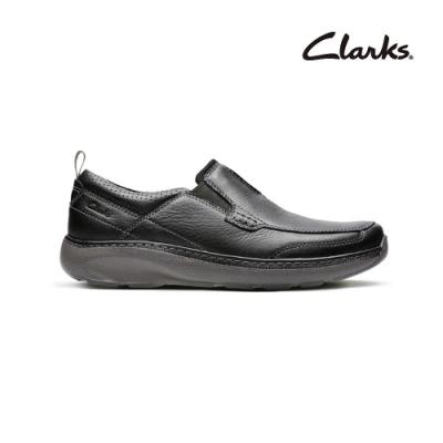 Clarks   摩登經典   Charton Step  男鞋  黑色  CLM14995SC20