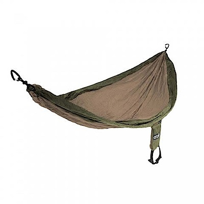 ENO SingleNest Hammock 單人吊床 卡其/橄欖綠