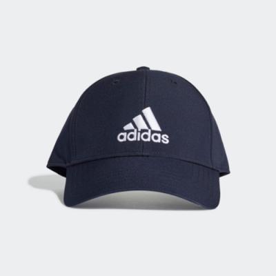 ADIDAS 棒球帽  帽子 老帽 藍 GE0759