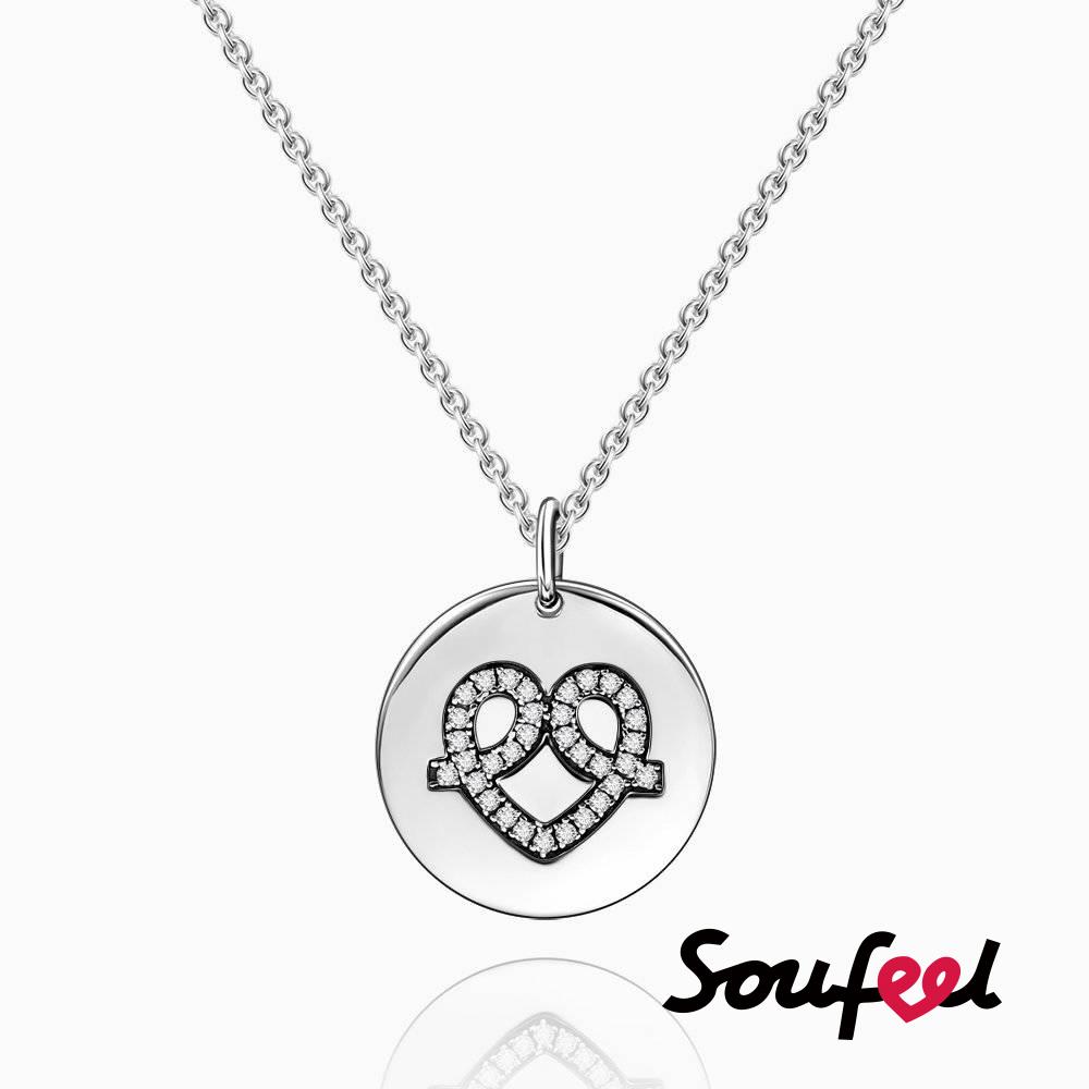 SOUFEEL索菲爾 925純銀珠飾 擁抱愛 項鍊