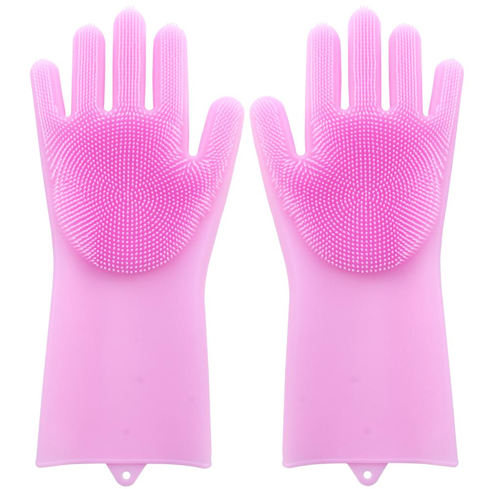 玉手金鐘罩-清潔矽膠手套一對