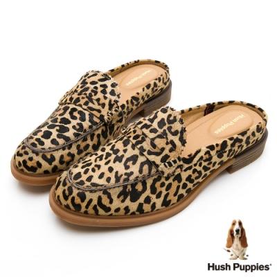 Hush Puppies Bailey 穆勒休閒女鞋-豹紋