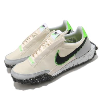 Nike 休閒鞋 Waffle Racer Crater 運動 女鞋 復古鞋型 舒適 簡約 球鞋穿搭 米白 黑 CT1983102