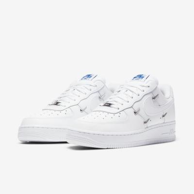 Nike 休閒鞋 Air Force 1 07 LX 女鞋 基本款 簡約 質感 炫雅著 穿搭 球鞋 白 CT1990100